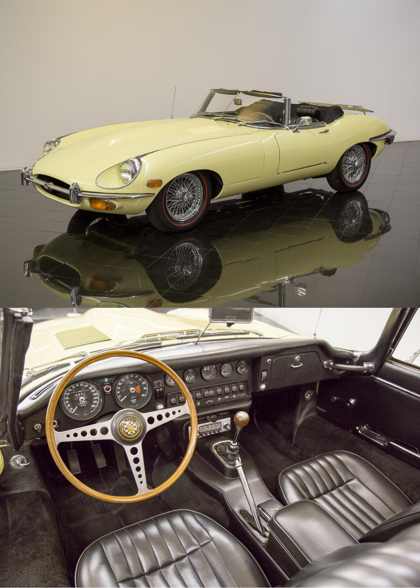 1969 Jaguar E-Type Series II Convertible