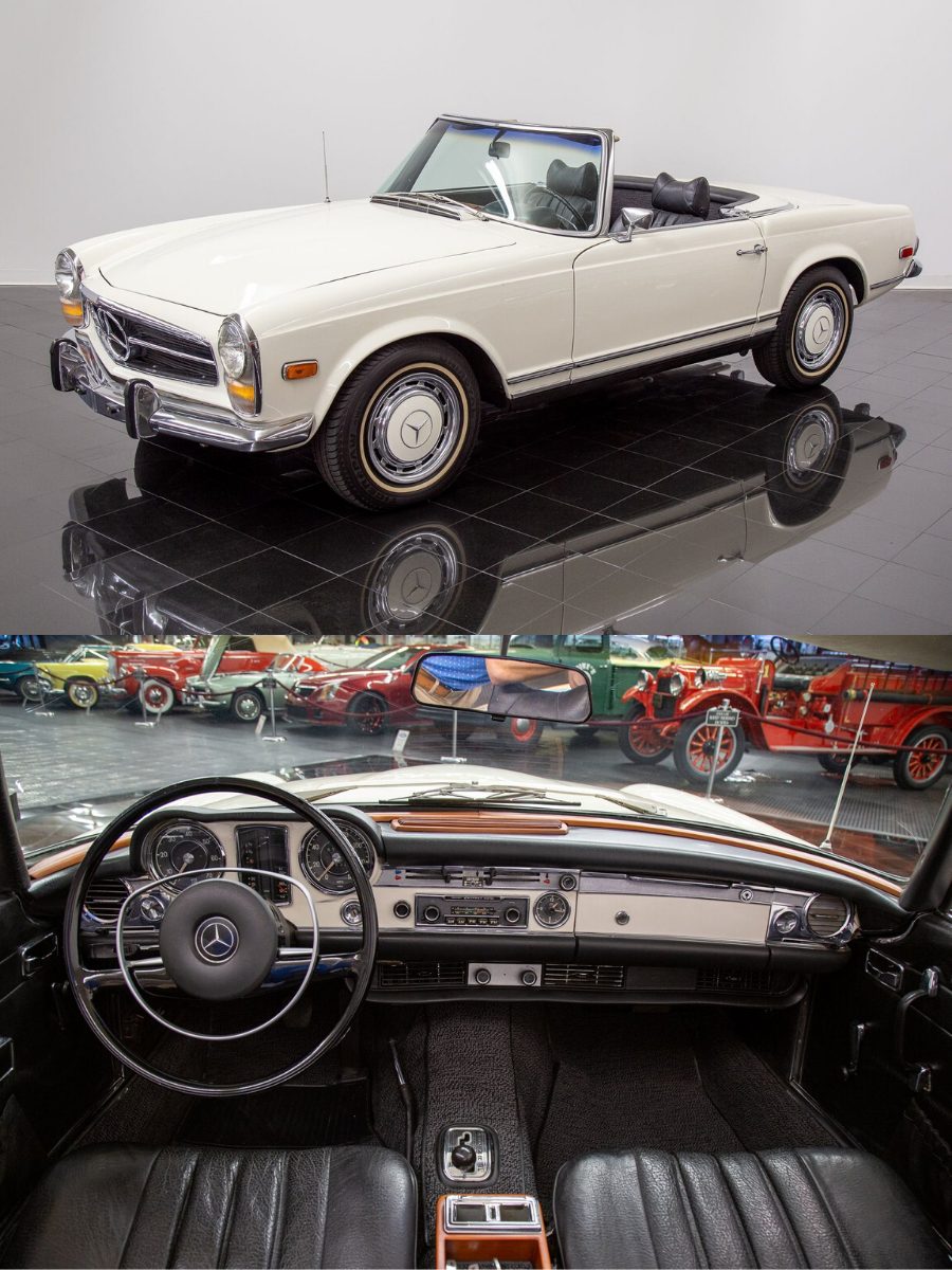 1969 Mercedes Benz 280SL Convertible sold