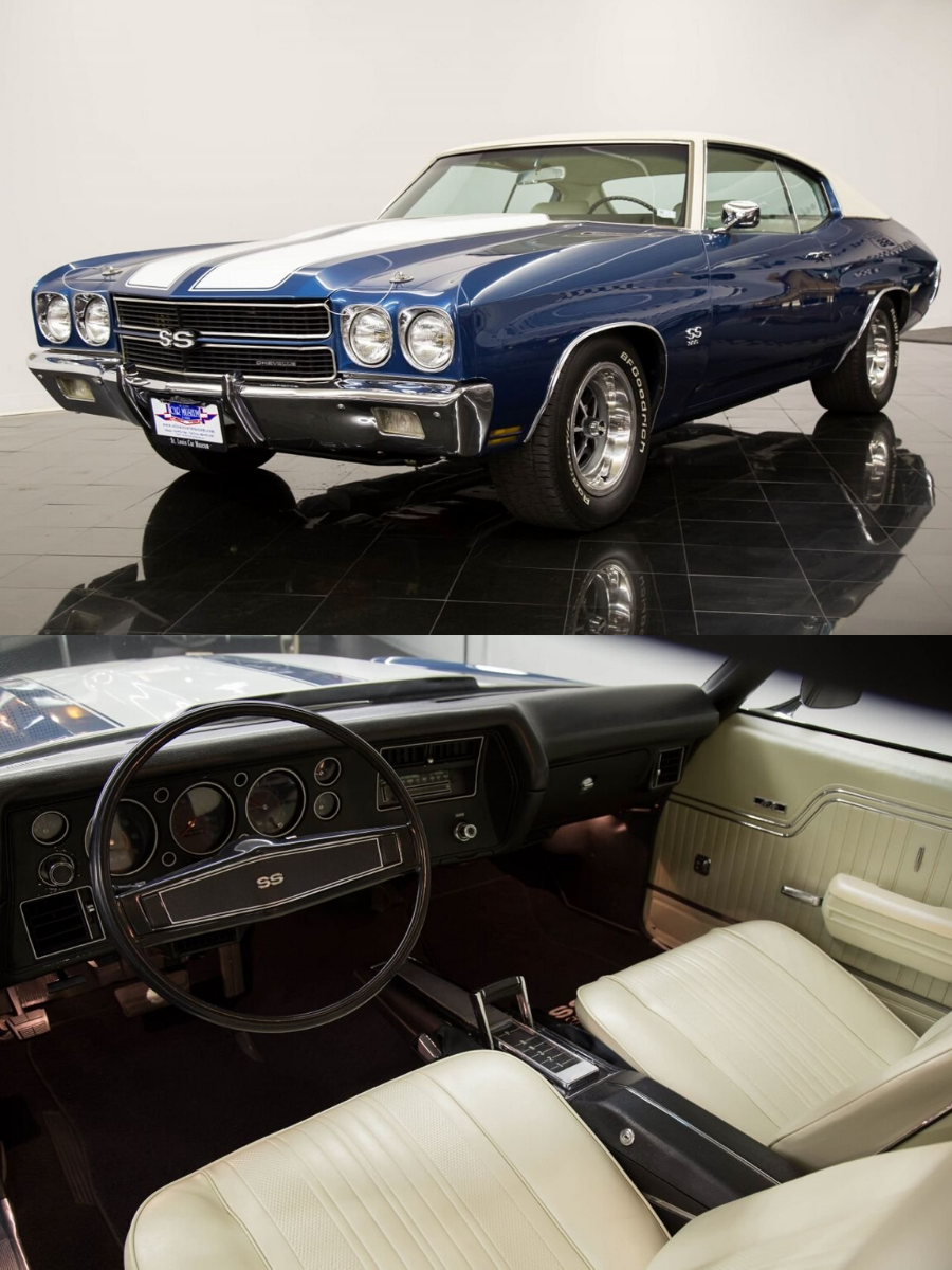 1970 Chevrolet Chevelle SS SS396 Hardtop Hardtop sold