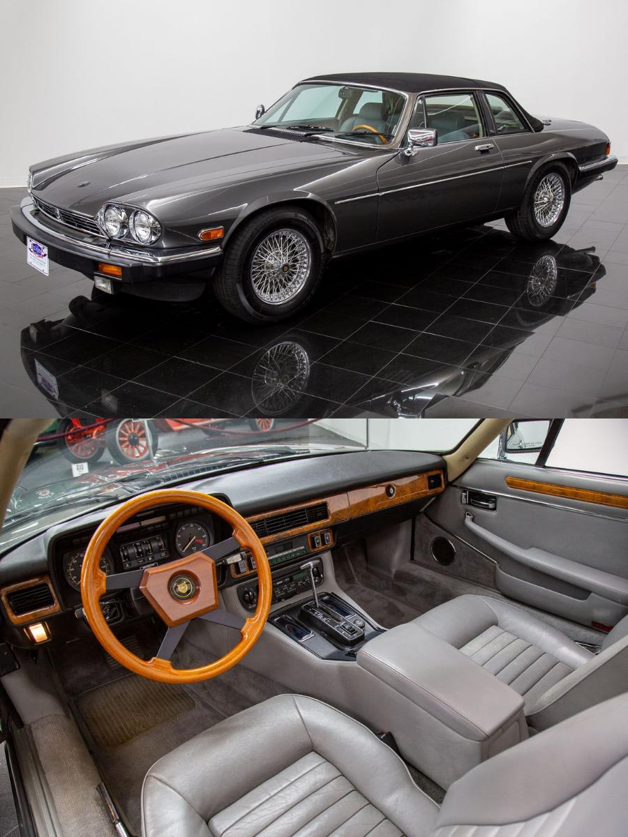 1987 Jaguar XJ-SC sold