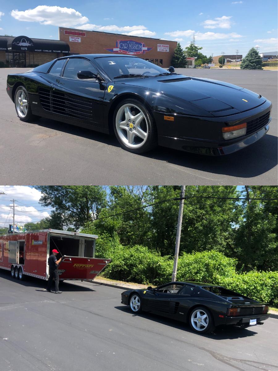 1988 Ferrari Testarossa sold
