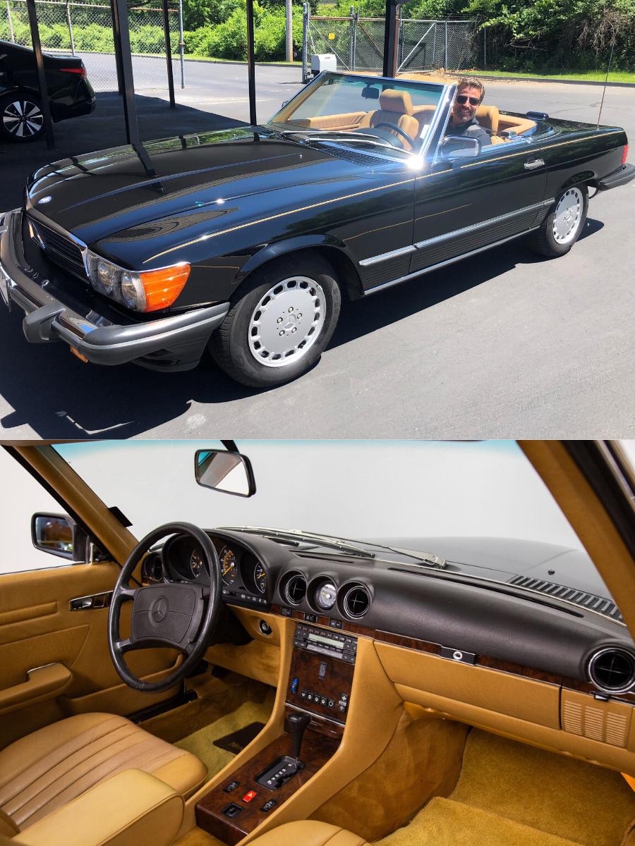 1988 Mercedes Benz 560SL Convertible sold