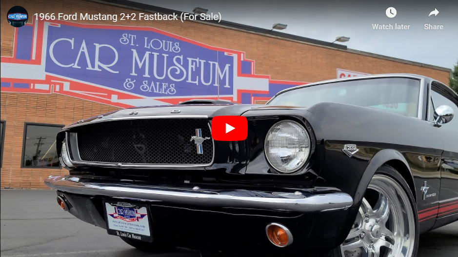 St. Louis Car Museum youtube video