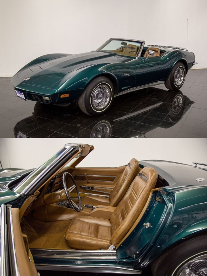 1973 Chevrolet Corvette Convertible sold