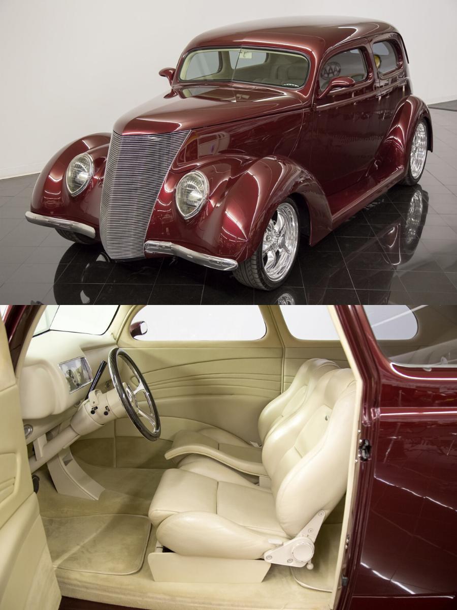 1937 Ford Tudor Humpback Sedan sold