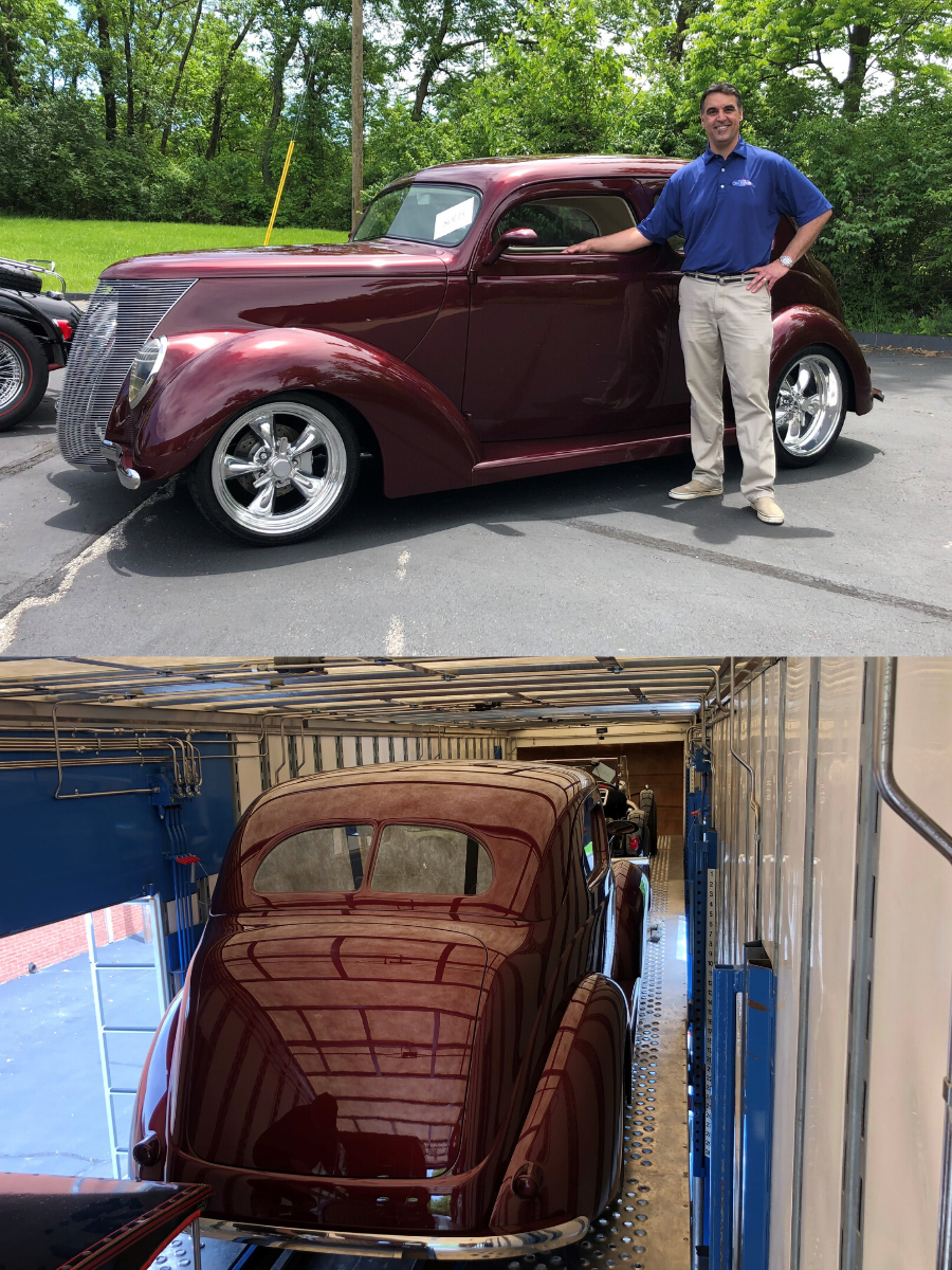 1937 Ford Tudor Humpback Sedan SOLD