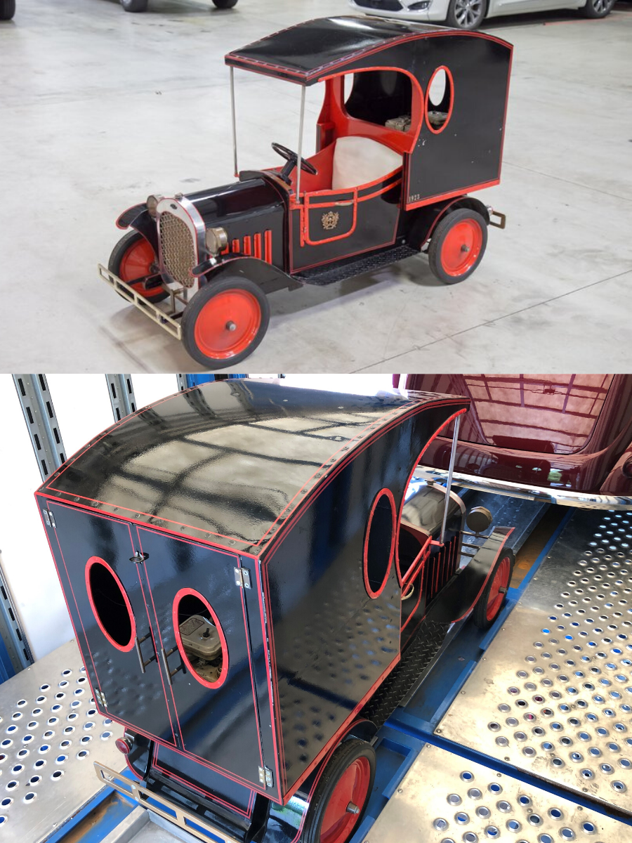 1923 Chevrolet Delivery Truck Go-Kart sold