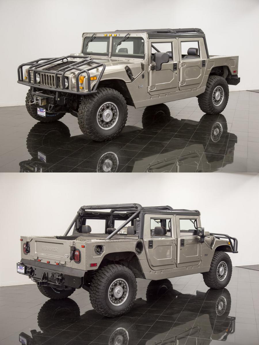 2006 Hummer H1 Alpha sold