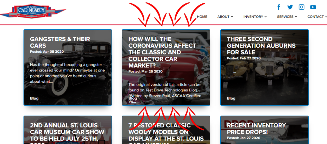 NEW BLOG POST How the Corona virus will affect the car market