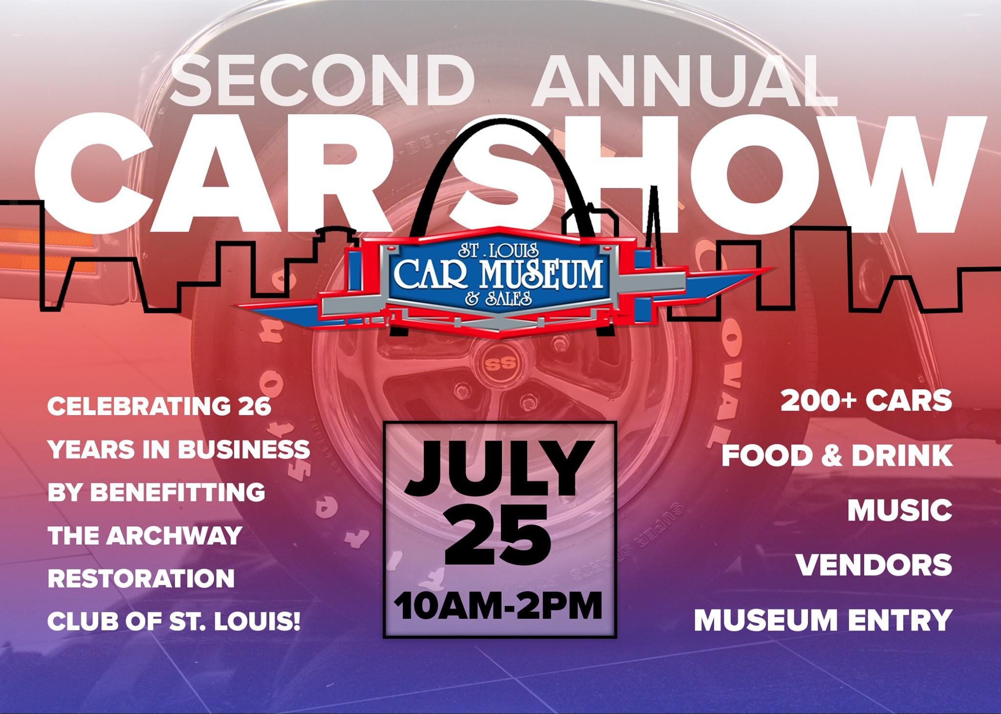 2nd Annual St. Louis Car Museum Car Show