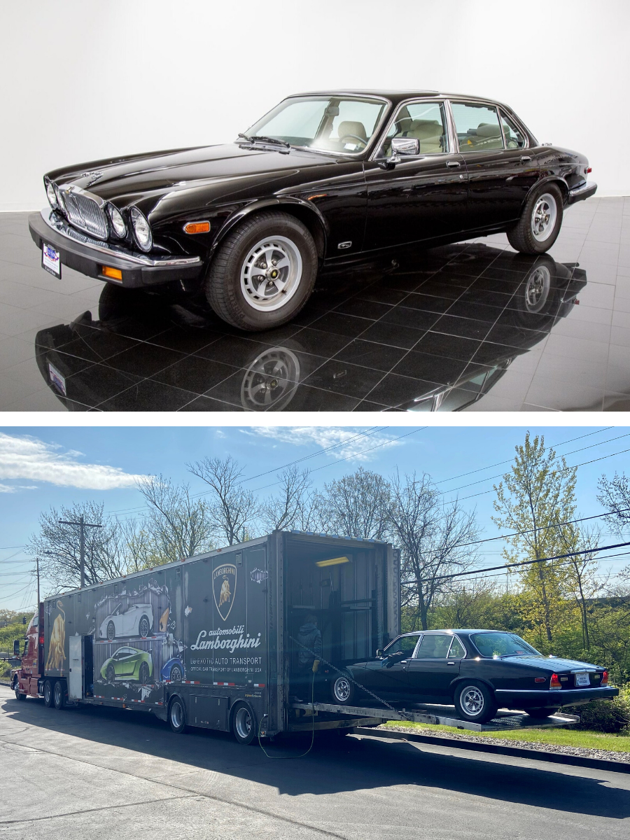 1986 Jaguar XJ6 Vanden Plas Sedan sold
