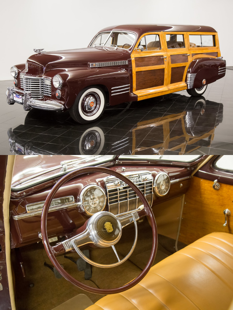 1941 Cadillac Series 61 Woodie Station Wagon for sale