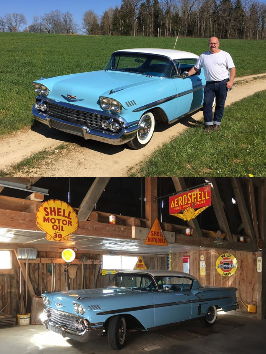 sold 1958 Chevrolet Impala Sport Coupe
