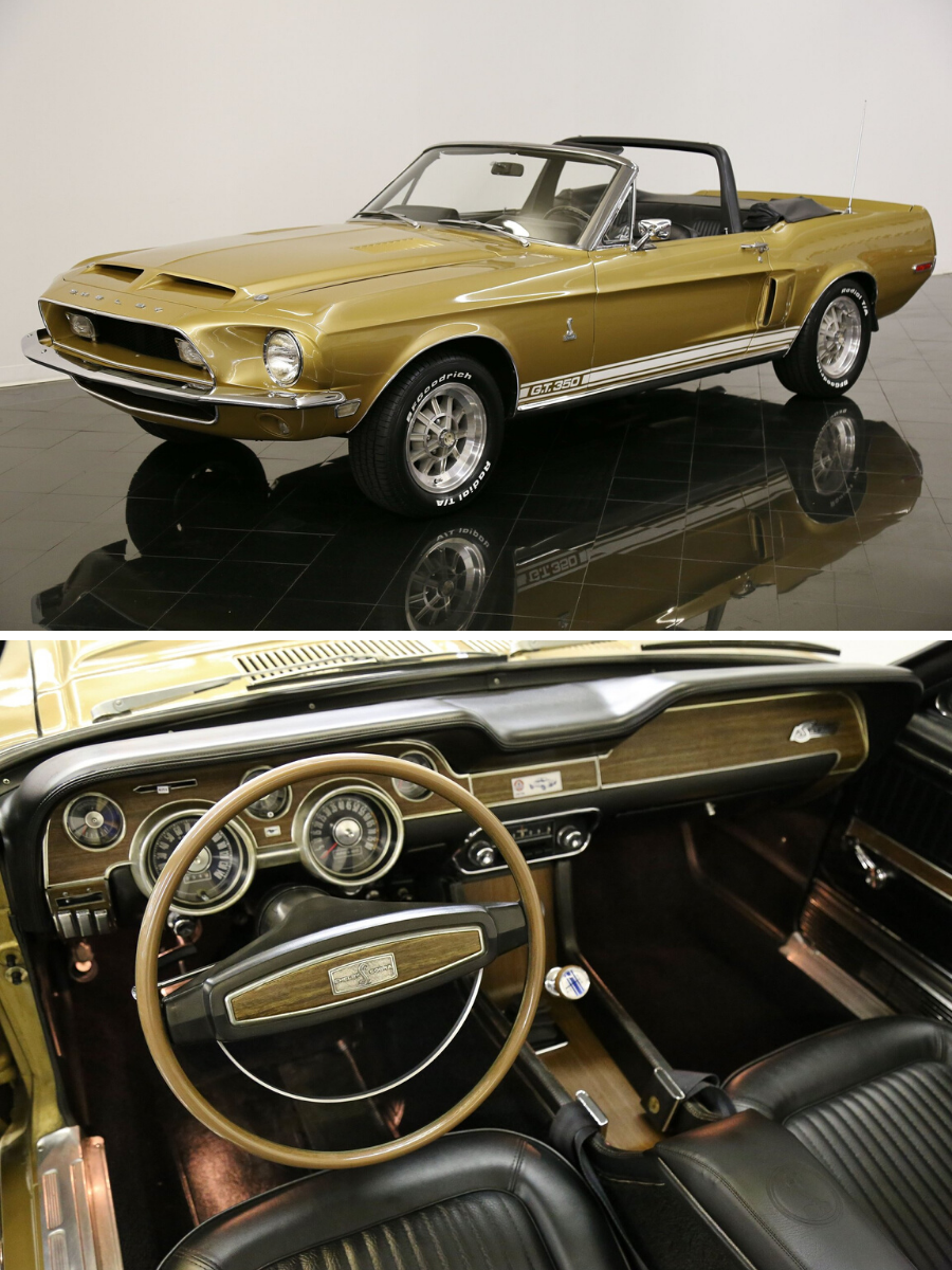 1968 Shelby Mustang GT350 Convertible For Sale