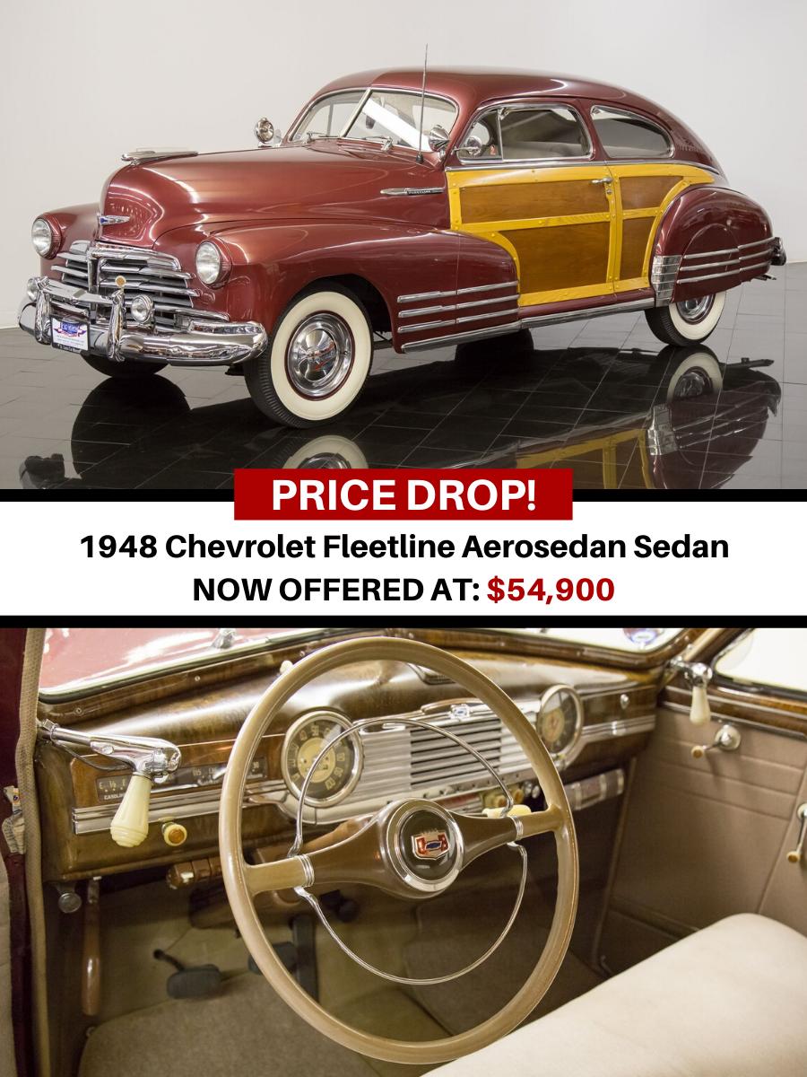 1948 Chevrolet Fleetline Aerosedan Sedan