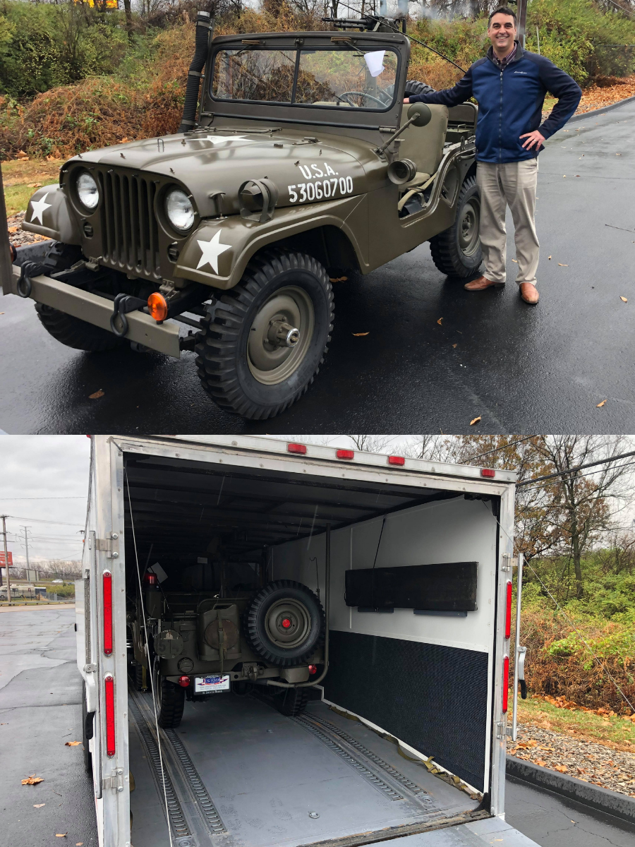 Sold 1954 Willys M38A1