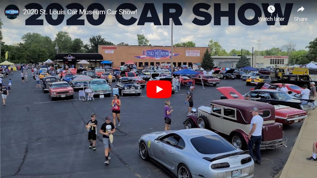 2020 St. Louis Car Museum Car Show Youtube Video
