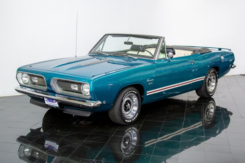 1968 Plymouth Barracuda Convertible for sale