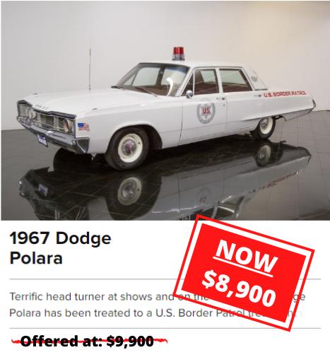 1967 Dodge Polara RPICE DROP