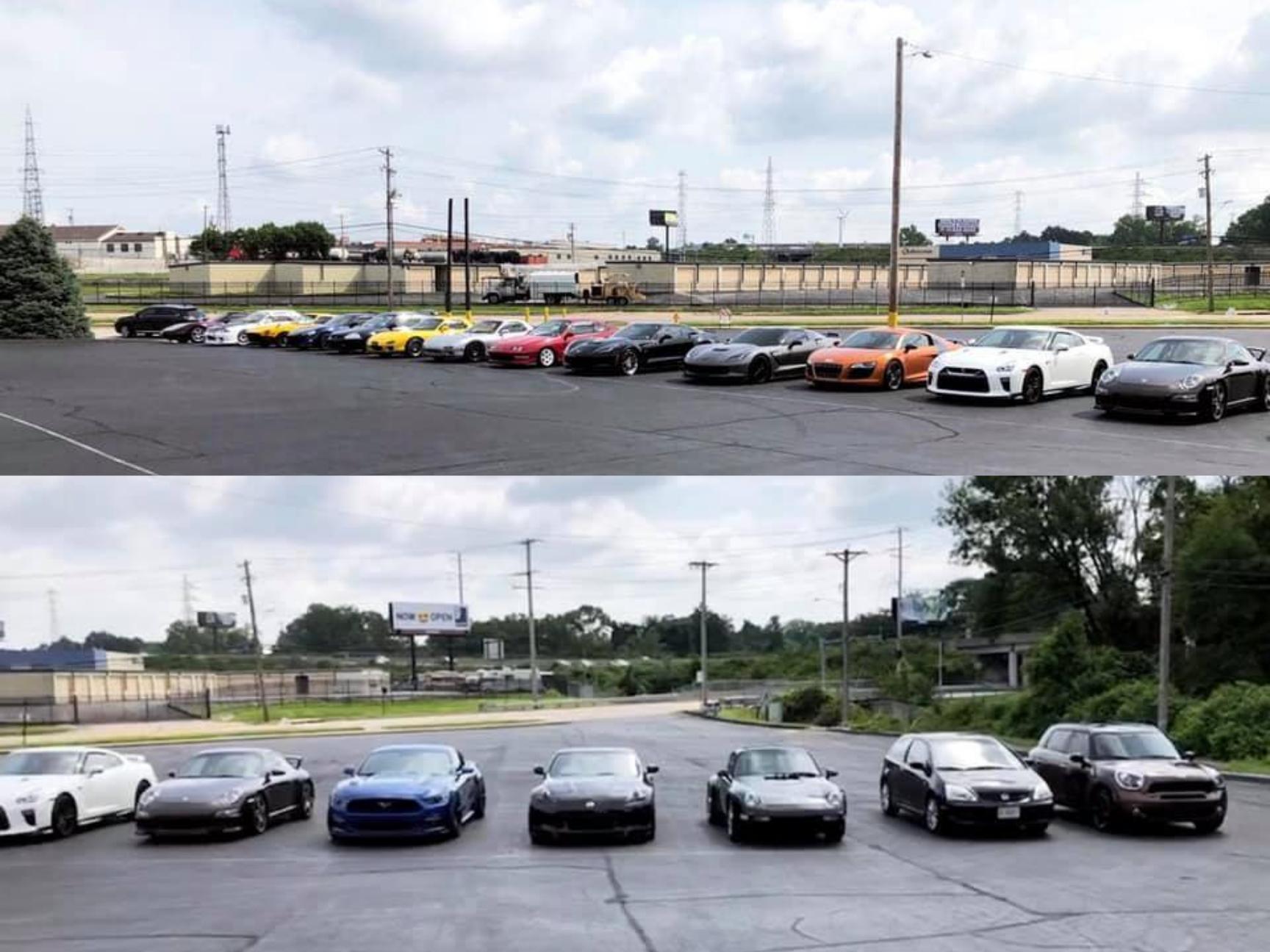 cruisin STL car club