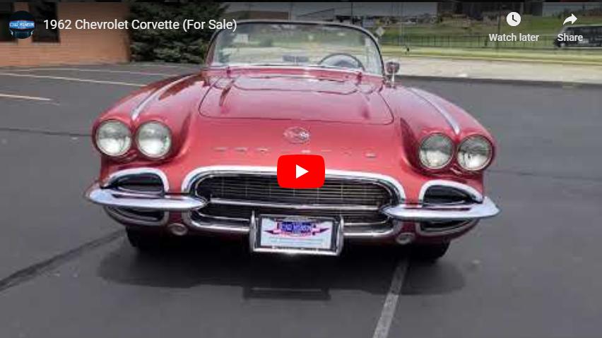 1962 Chevrolet Corvette Convertible Youtube Video