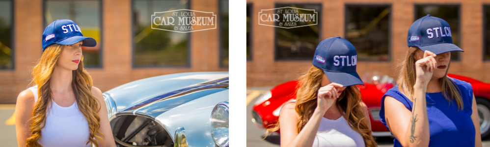 Picture of St. Louis Car Museum Hat and Ferrari Dino Fantuzzi