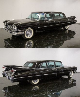 1959 Cadillac Fleetwood Series 75 9 Passenger Sedan