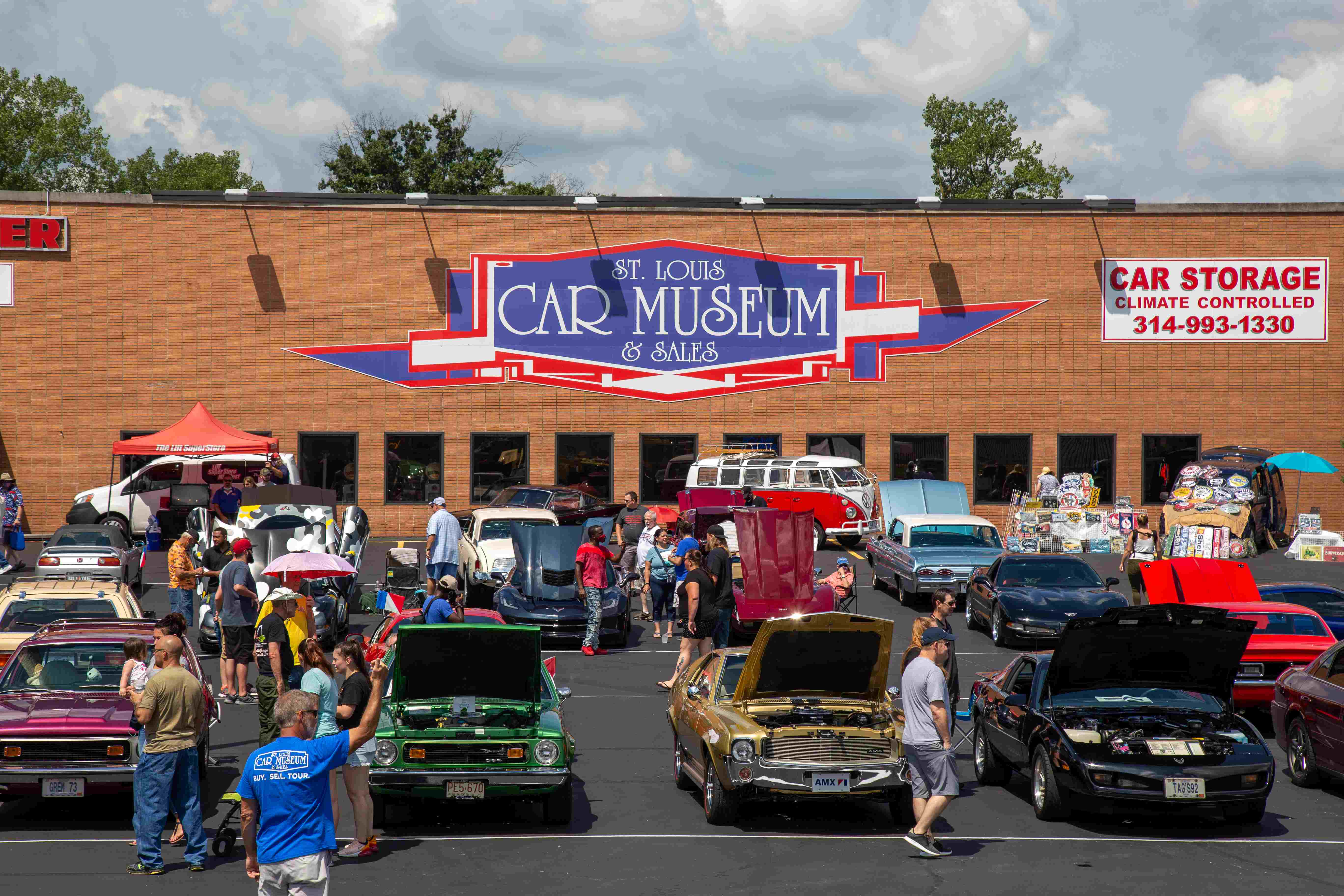 2nd Annual St. Louis Car Museum Car Show
