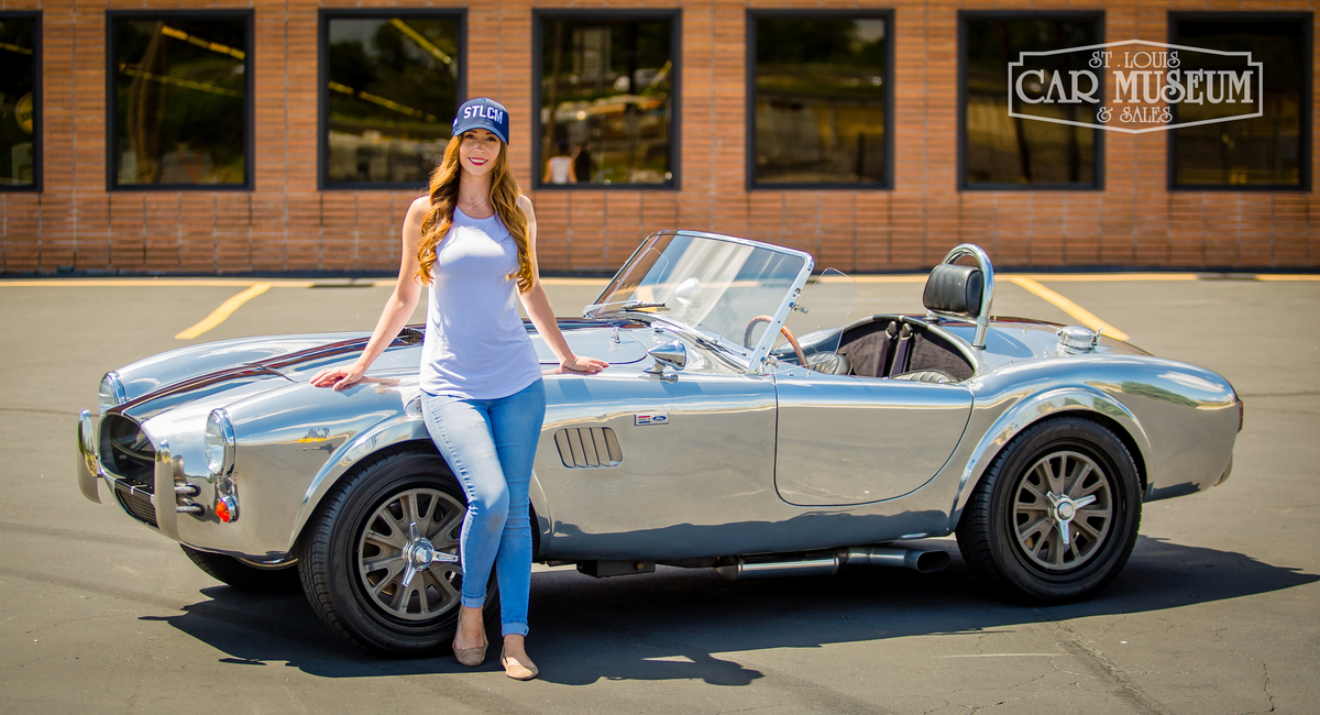 Picture of St. Louis Car Museum Hat and Shelby Cobra For Sale