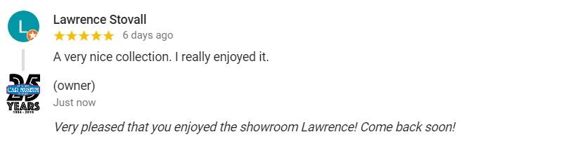 Google Reviews for St Louis Car Museum