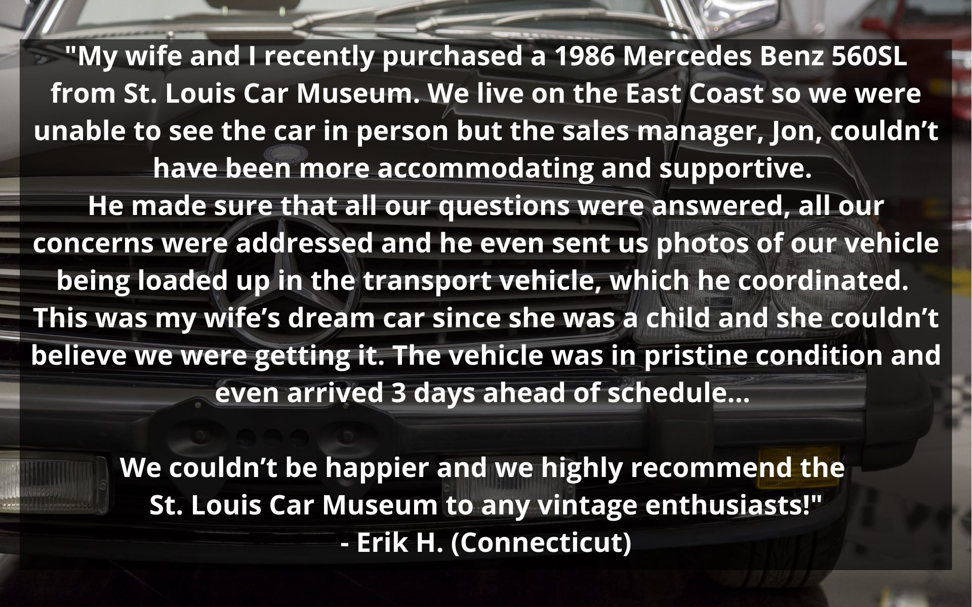 Mercedes benz sold