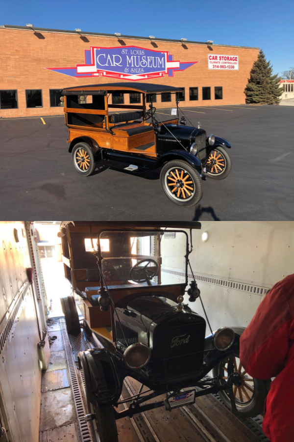 1926 Ford Model T Depot Hack Truck sold