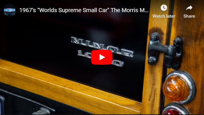 """New video up now 1967's """"Worlds Supreme Small Car"""" The Morris Minor Traveller"""