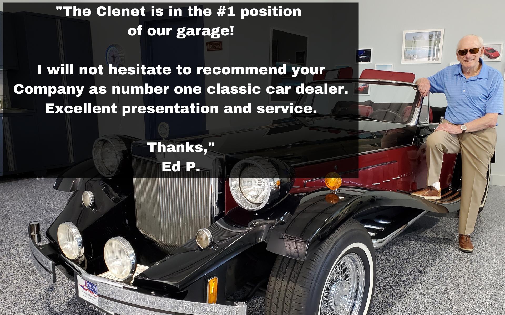 1985 Clenet Series III sold