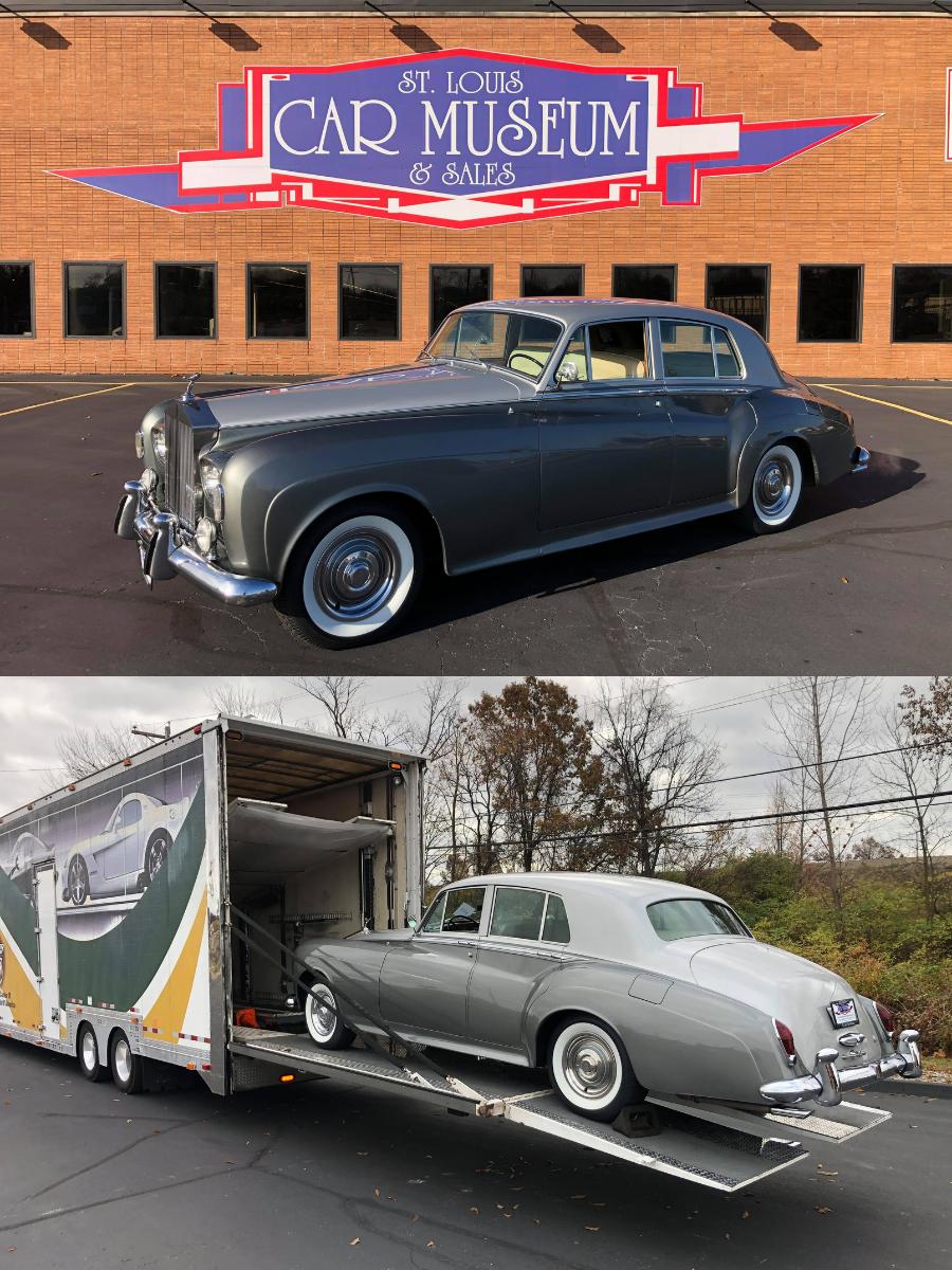 1963 Rolls Royce sold