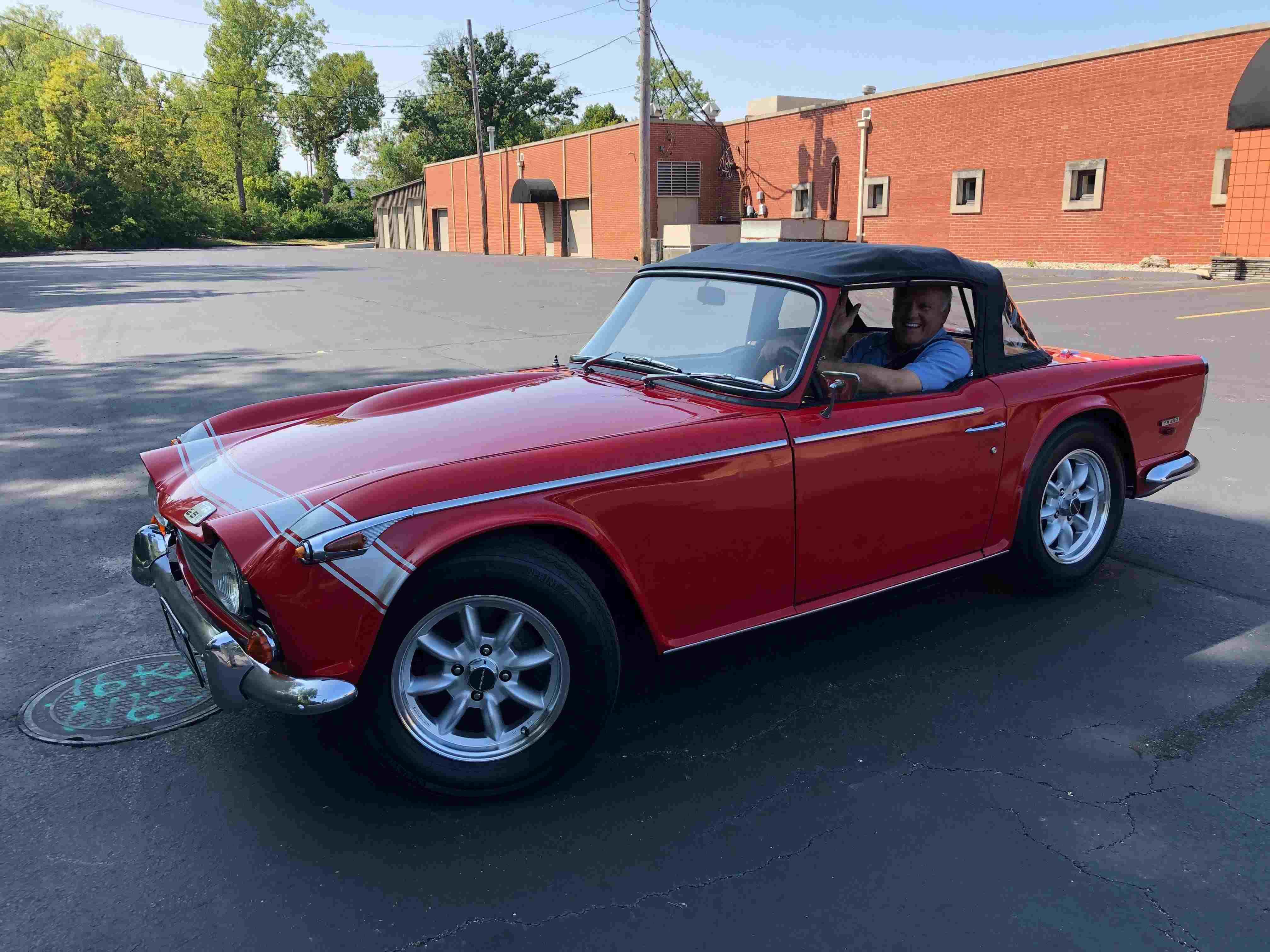 1968 Triumph TR250 sold