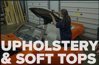 upholstery and soft top repair service