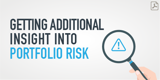Link to PDF on Getting Additional Insight into Portfolio Risk article