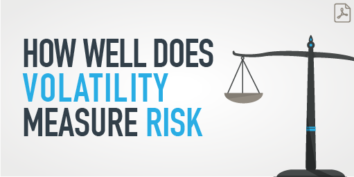 Link to PDF on How Well Does Volatility Measure Risk article