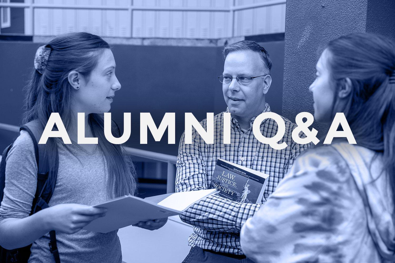 Image of Alumni Panel QA at MassBay Community College