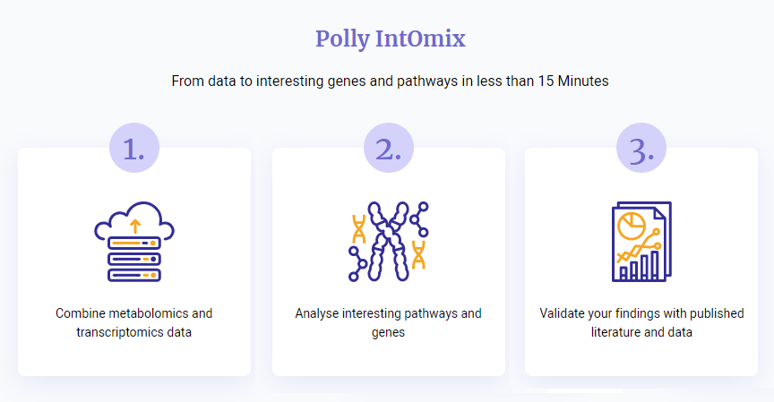 Polly IntOmix workflow