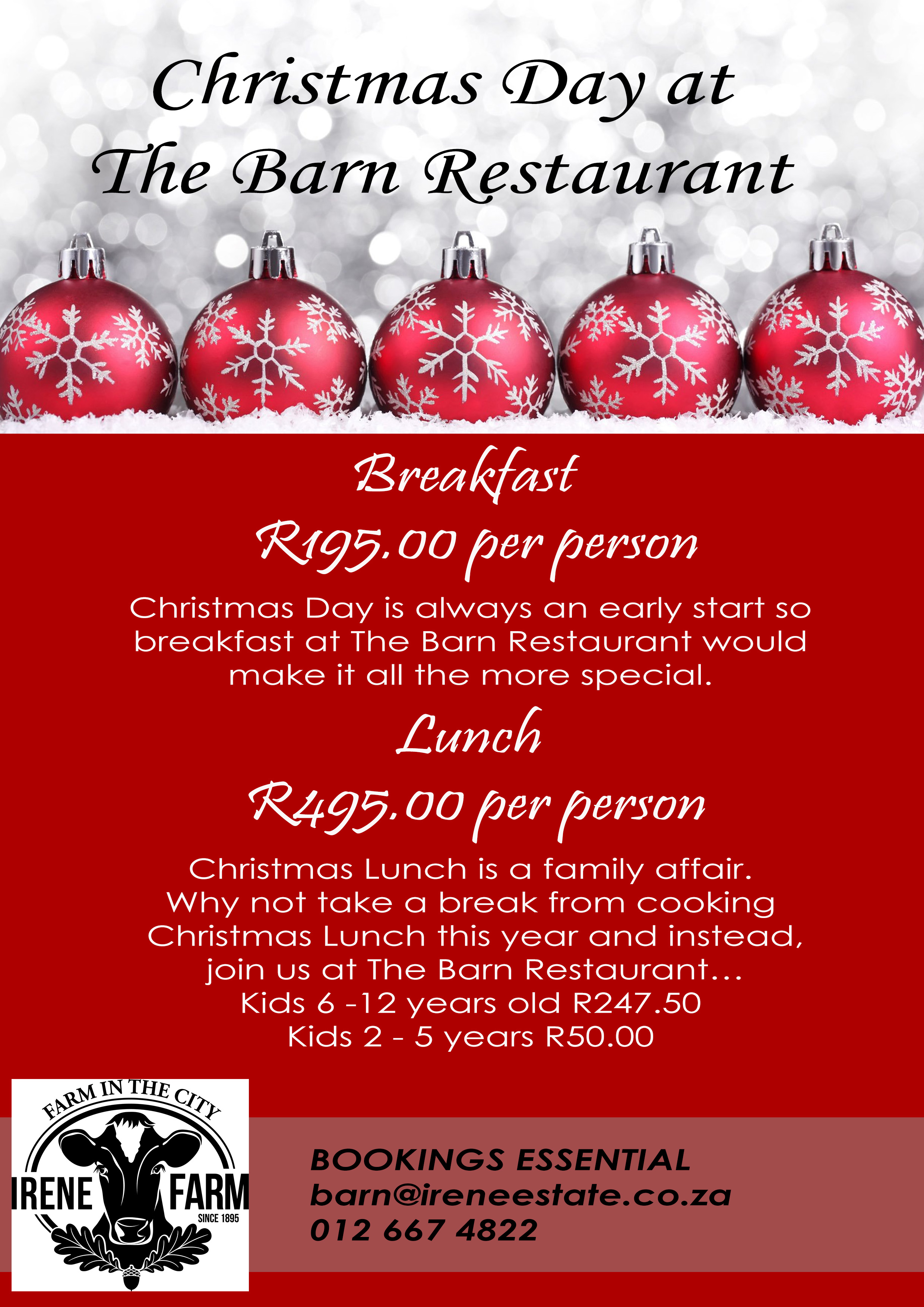 book your christmas day feast now to avoid missing out - What Day Is Christmas This Year