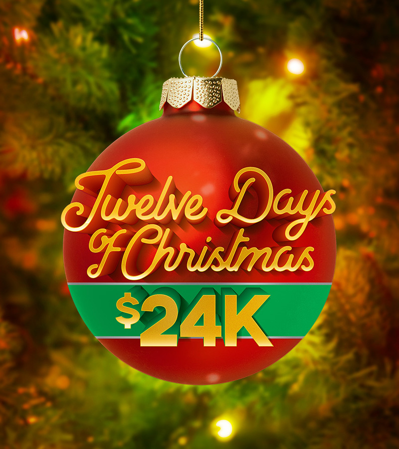 Twelve Days of Christmas $24K