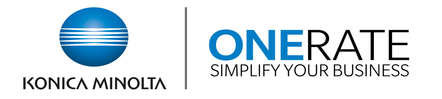 Konica Minolta Presents OneRate