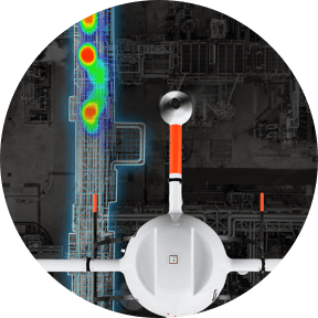 drone methane detection