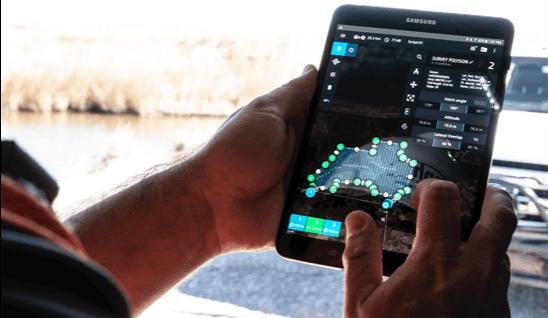 drone surveying