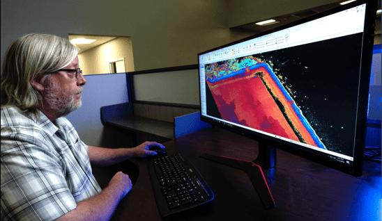 drone surveying data