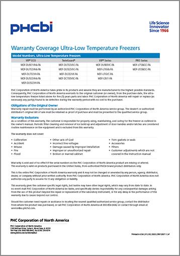 Warranty Statement PDF