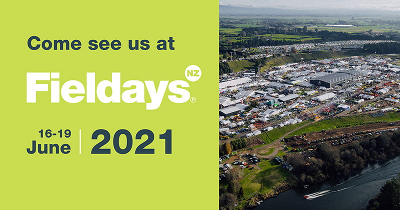 Join the Rollforming Services and Central Steel Framing teams at Fieldays 2021