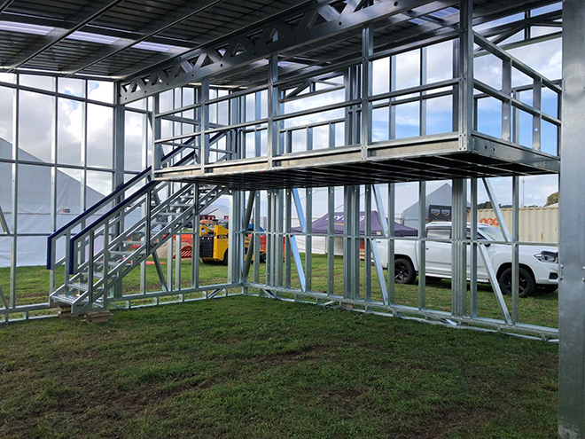 Central Steel Framing with RFS at Fieldays